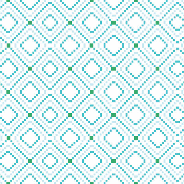Fabric: Kilim: Diagonal Aqua