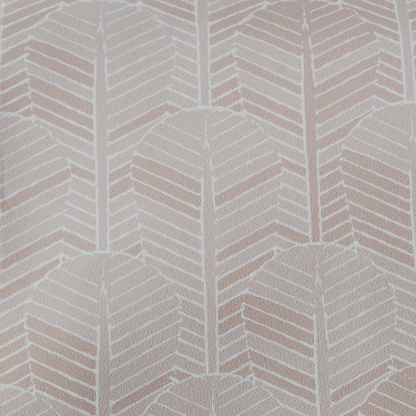 Close up of Edfu Palm Dusty Pink wallpaper