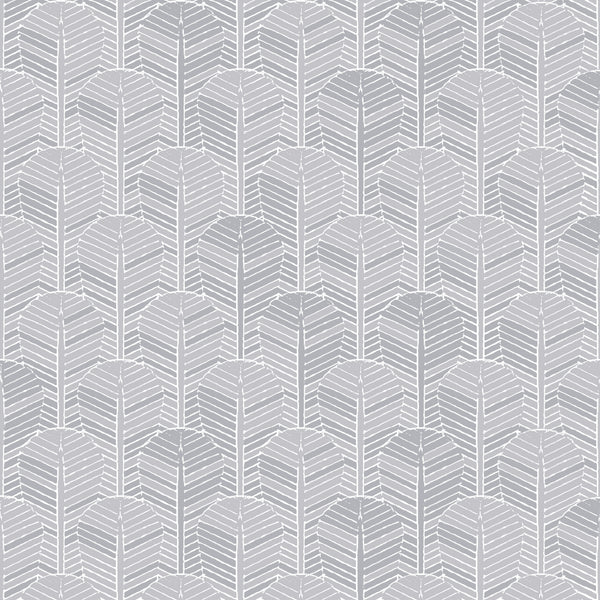 Fabric Edfu Palm Ice Grey design