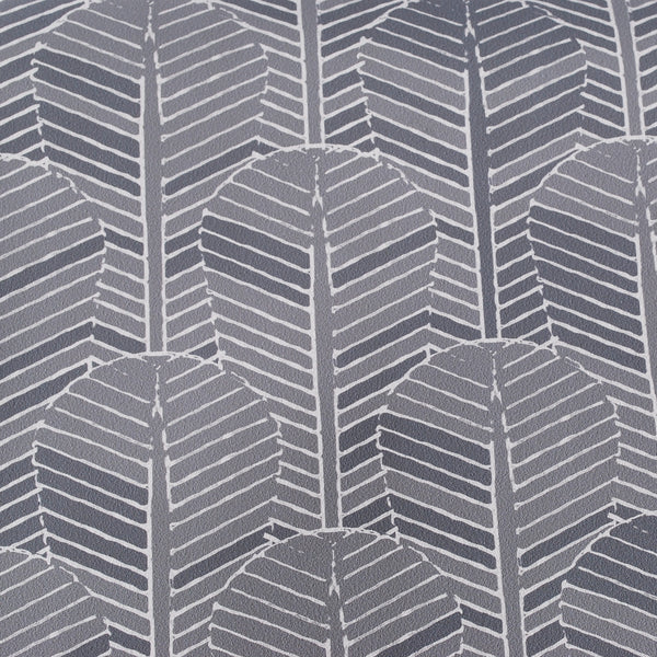Close up of Edfu Palm Shades of Grey wallpaper