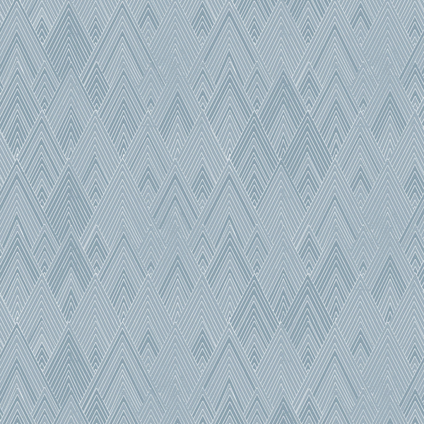 Edfu fabrics Pyramids Light Blue design