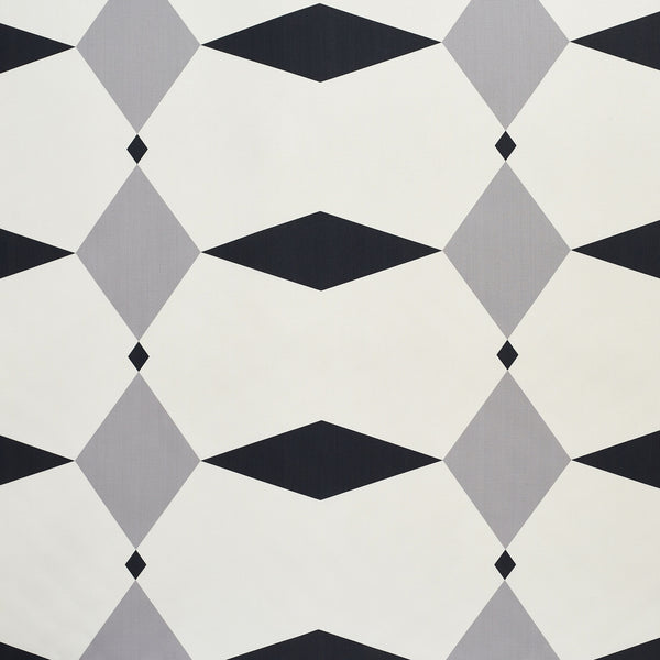 Rhombus grey Design Fabric