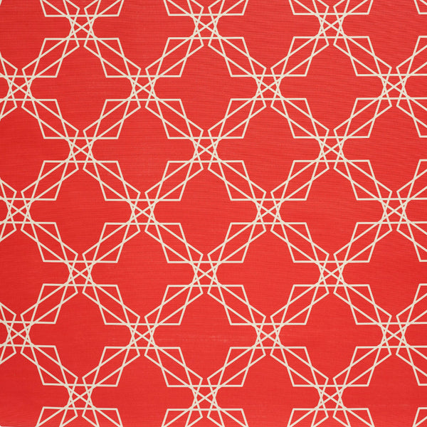 Stars Red design fabric