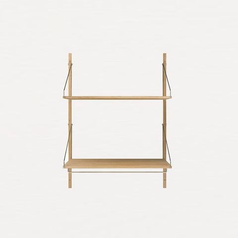 Frama Shelf Library Natural Oak H1148 | Hanger Section