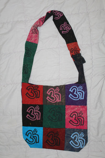 Soft Cotton Multi-coloured Sling Bag