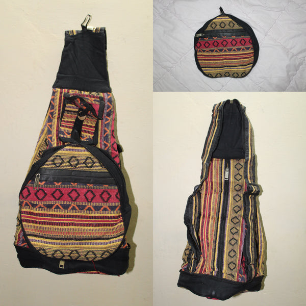 Foldable Canvas Rucksack