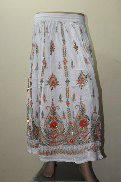 Beautiful Indian Sequin Long Skirt