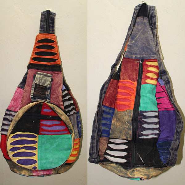 Multi-Coloured Printed Rucksack