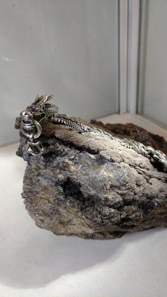 Taming the Eastern Dragon - Silver Sterling Bracelet