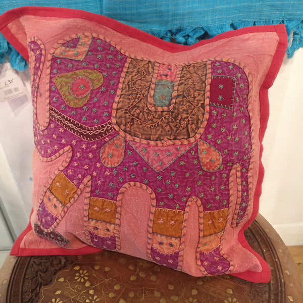 Indian Elephant Cotton Cushion Covers