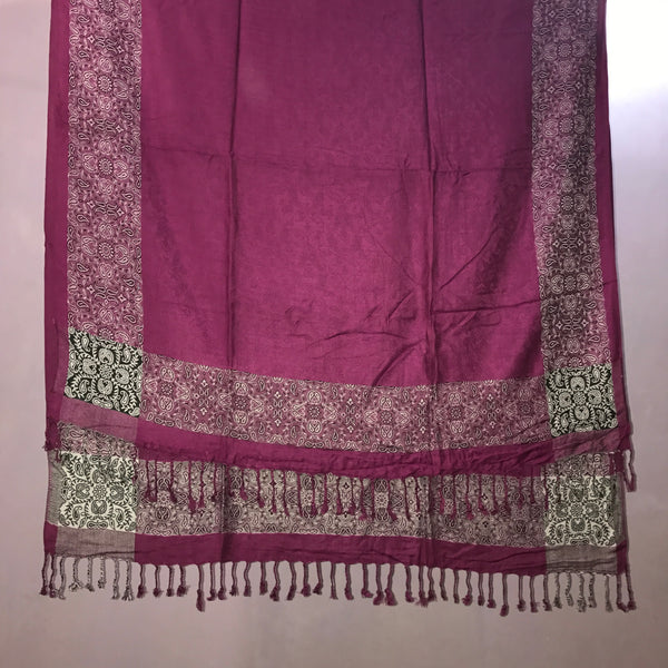 Pashmina Solid Colour Women's Shawl