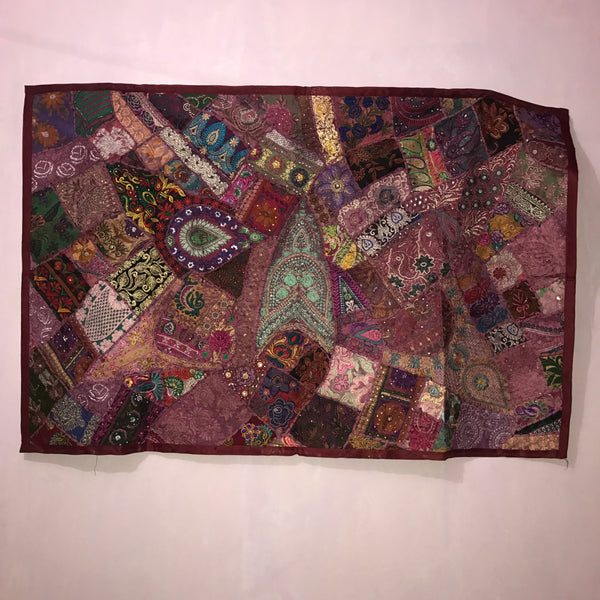 Indian Handcrafted Sequin Beaded Wall Hanging