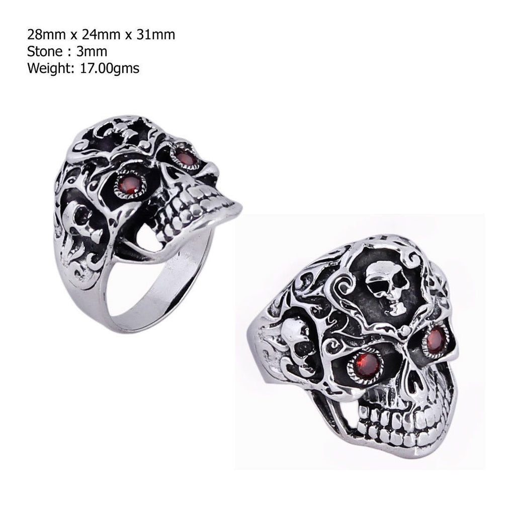 The Mind in the Skull - Sterling Silver