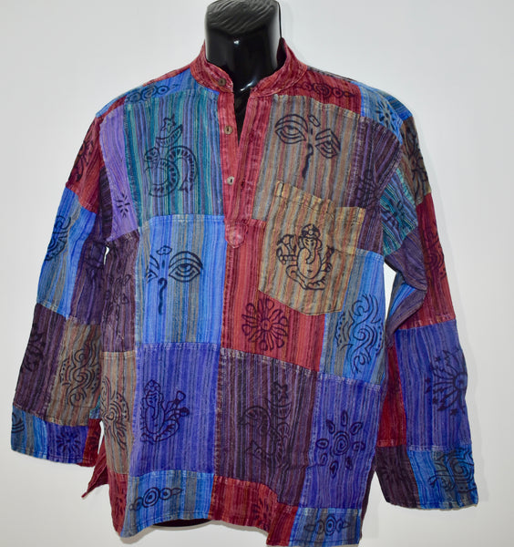 Nepalese Patchwork Long Sleeve