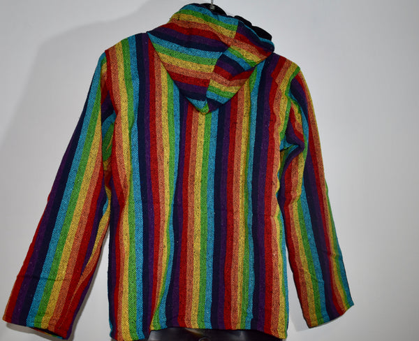 Rainbow Fleeced Coat