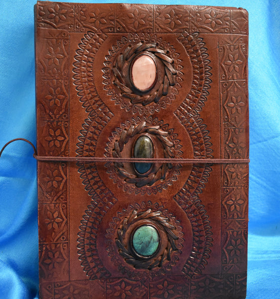 Leather-bound Spell book