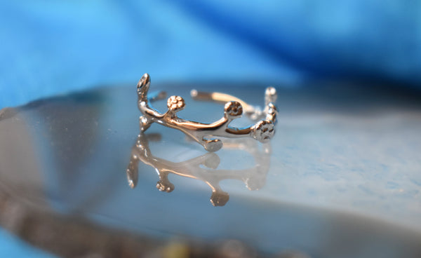 Leaf Vine Midi Ring