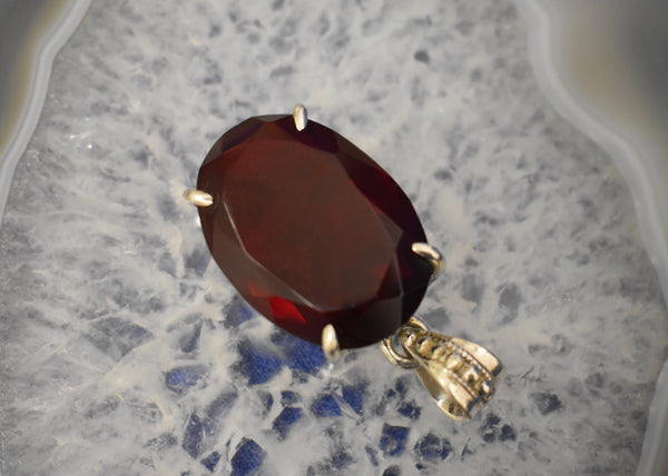 Limited Indian Ruby Pendant Large
