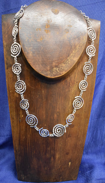 Multi-swirl Necklace