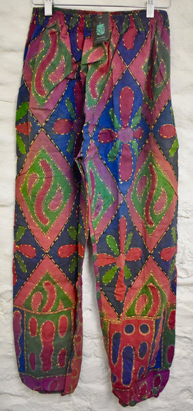 Straight Coloured Hareem Trousers