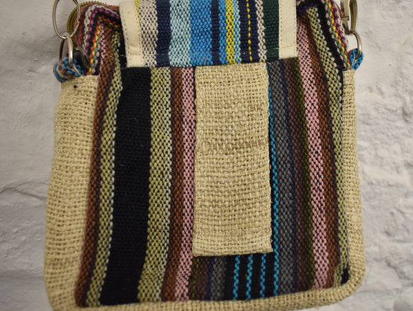 Hemp shoulder-bag