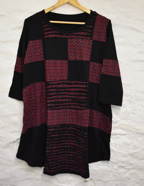 Patchwork Nepalese Tunic-top