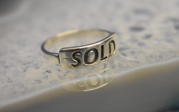 Silver Sold ring!