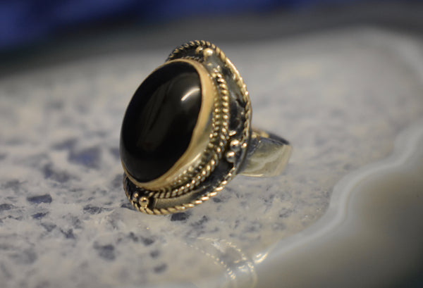 Black Onyx Thick Setting