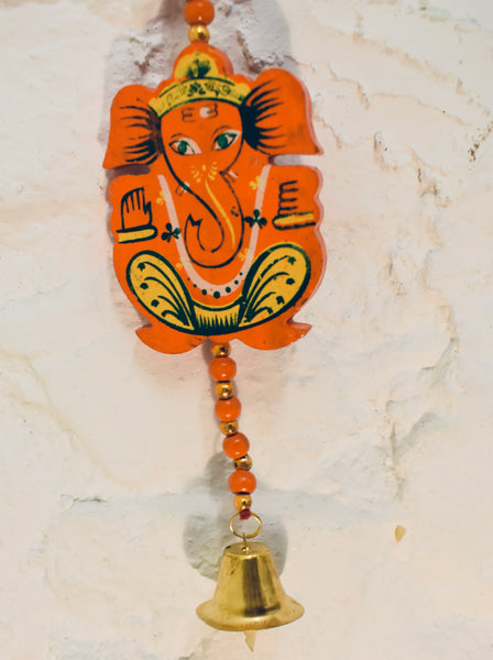 Wooden Elephant Hanging