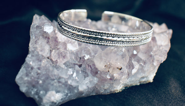 Chunky Detailed Bangle