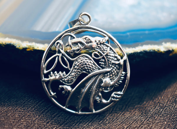 Celtic Dragon Pendant