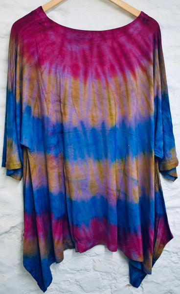 Tree of Life Tie-Dye Jersey