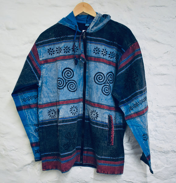 Blue Lightweight Festival Jacket