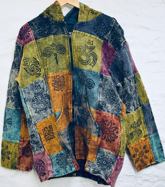 Lightweight Patchwork Jacket