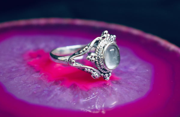Detailed Quartz Ring
