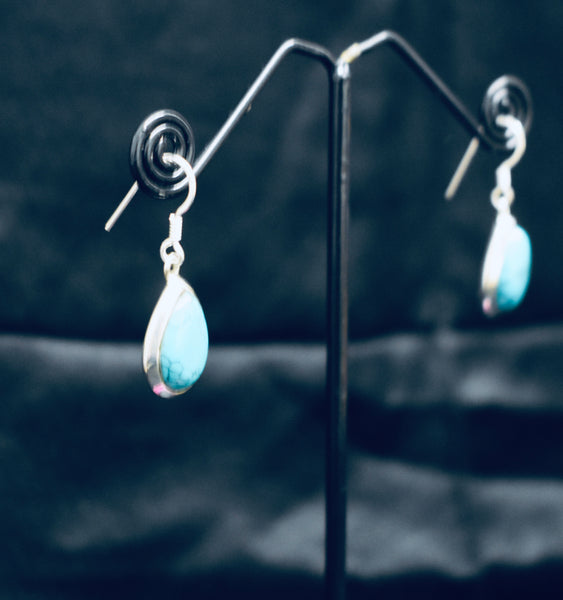 Plain Tear Drop Earrings