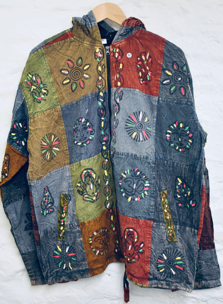 Dark Patchwork Jacket!