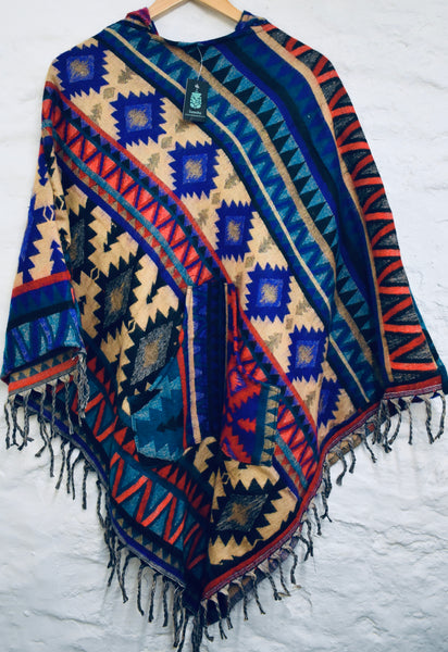 Large Nepalese Poncho