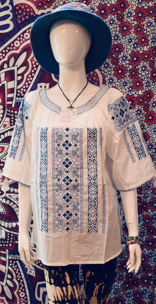 Nepalese Summer Blouse-shirt