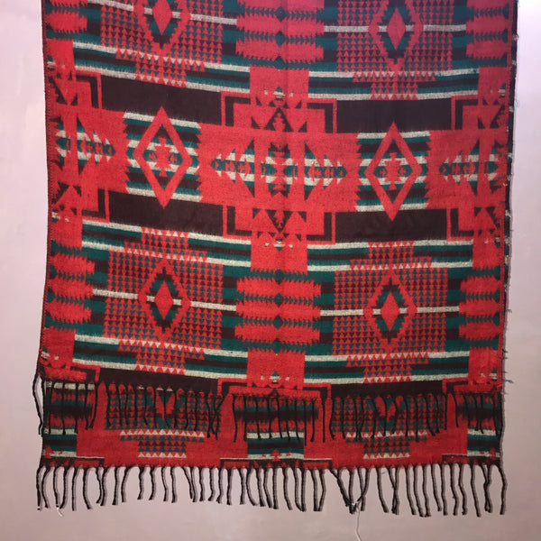 Women's 100% Printed woolen Shawl