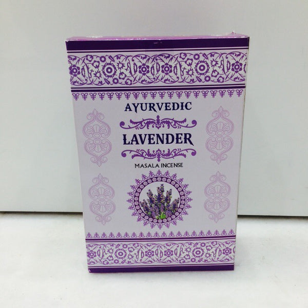 Ayurvedic Agarbatti Incense Sticks (Lavender)