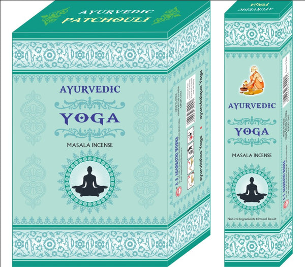 Ayurvedic Agarbatti Incense Sticks (Tuorquise Yoga)