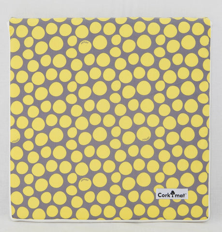 SAMPLE - CorkiMat™ Yellow Pebbles