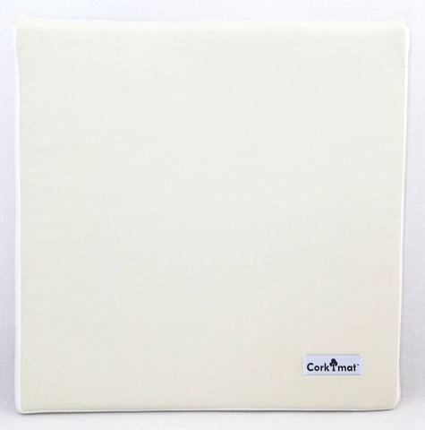 CorkiMat™ - Natural White