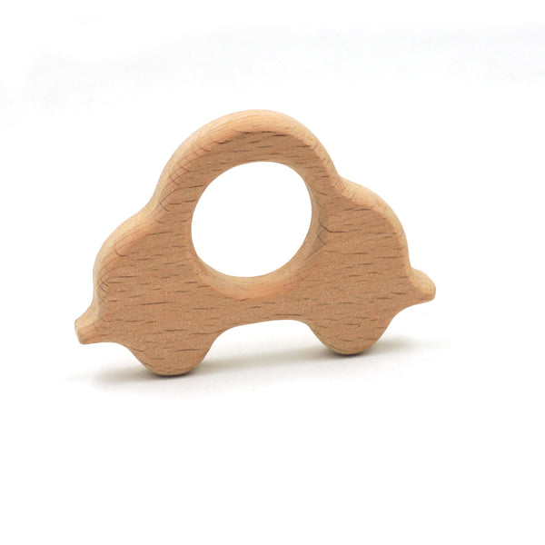 Wooden Toy & Teether - Car