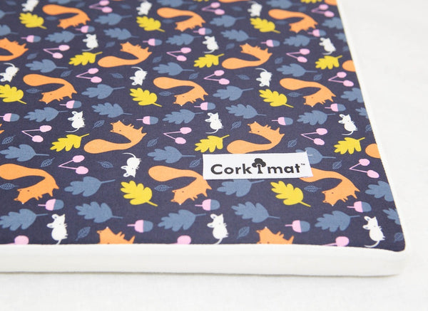 CorkiMat™ -  Woodland Critters | Orange