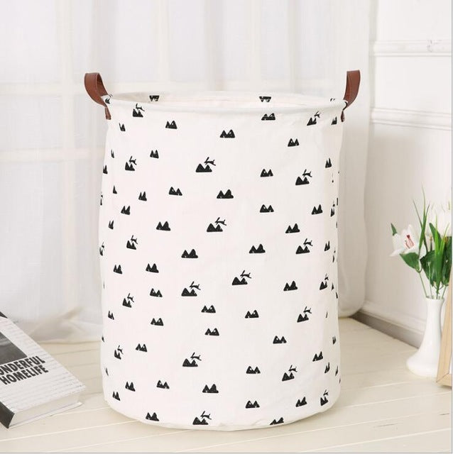 Cotton Canvas Toys Utility Storage - Mt. bunny