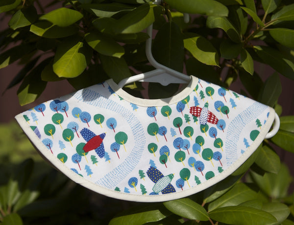 Premium Organic Cotton Bib - Choose Your Design!