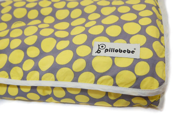 Organic Cotton Play Mat - Pebbles Yellow