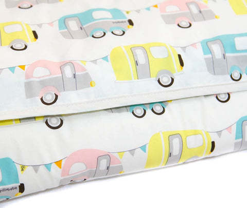Organic Cotton Play Mat - Campers